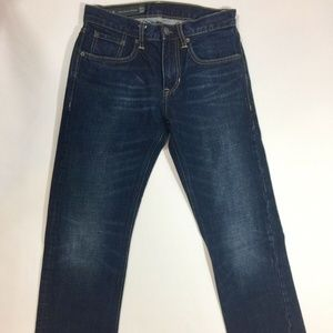 Armani Exchange Blue Jeans Relaxed Fit Straight 28
